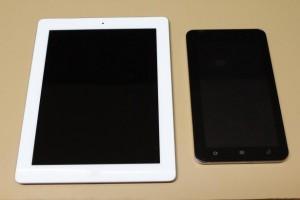 Ipad & Reliance Tab Side by Side