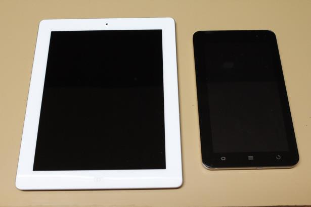 Ipad & Reliance Tab Side by Side