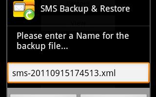SMS Backup Restore by Ritesh Sahu